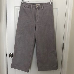 Like new Madewell wide leg pants